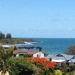  View from Top Floor Bargara Blue