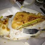  cuban sandwich...sorry I started eating before I took pic..lol