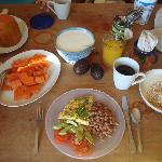 Breakfast time - you can call it a brunch if you want