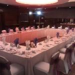  wedding room decorated by lurgan wedding accessories