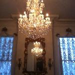 Chandeliers everywhere!