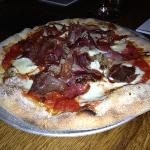  Pizza isn&#39;t bad. One of the meats tasted rather gamey