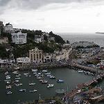 birds eye view of Torquay Harbour