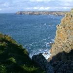 Cornish Coast from the cliff path