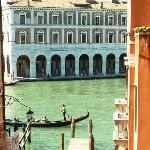  View of the Grand Canal near Ponte Rialto