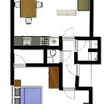 Floorplanner 4 person apartment