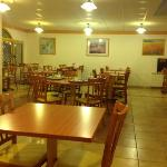 the breakfast/lunch/dining room....I can't call it Restaurant....but it is. Opened only for 2 ho