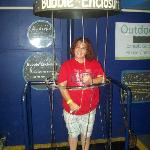 Me in the Bubble Enclosure