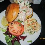 Shrimp Salad Sandwhich