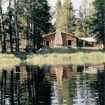 Big Sandy main Lodge from Mud Lake