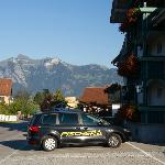  Aussenanlage, Hotel Bchel, Feldkirch
