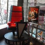  The Voice Chair, 2nd level of store