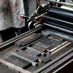 Letterpress printing at San Francisco Center for the book