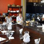 Intimate size cooking classes at Coriander Leaf -a la chef's table