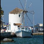 The windmill at Paros/Parikia port