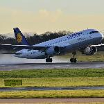 Lufthansa A320 Take Off