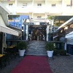 Main entrance at Polo Hotel
