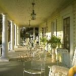 Everyones favorite- Our Wrap Around Sitting Porch