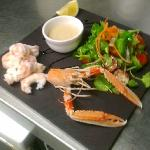  Langoustine salad