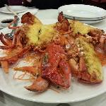  baked lobster with sweet cheese- highly recommended