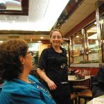 Our fabulous server, Heather!