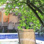 Relax by the pool at Casa Verde Rio