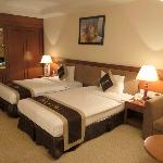 Relatively new and pleasant room.  3-4-star quality