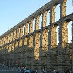  Roman aquaduct/Segovia