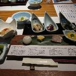 Dinner - fine fresh produce, quality kaiseki meal
