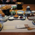 "Breakfast spread - also ""Kaiseki""-style"