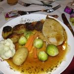 not the best really only 3 roasties not good