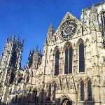 York Minster only 10 mins walk away