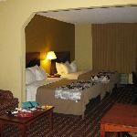 Sleep Inn suite