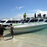  Landstigning p Gili Trawangan
