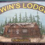 Sign in front of the Lodge