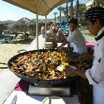 Paella for lunch!