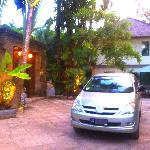TAMAN WANA SEMINYAK LUXURY VILLAS ENTRANCE