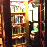 The Hatton Arms book swapping telephone kiosk