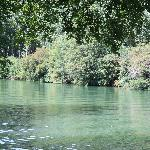 The River Charente in Cognac