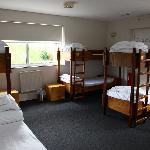  One of the bunk rooms