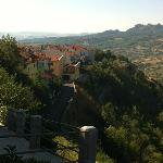 view from just outside Borgo San Pietro