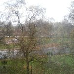  Hyde Park view on rainy day