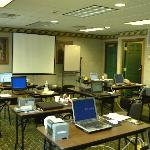Overview of meeting room for PLC training seminar