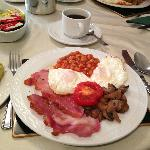 English breakfast (without sausage)