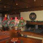  The Lobby is well decorated for Christmas