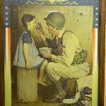 One of the covers displayed