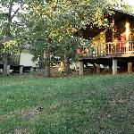 Our cabins offer a natural setting where you can view deer and other wildlife.