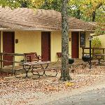  Our guestrooms with kitchenettes have private patios with picnic tables and barbeque grills.