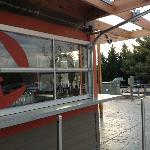 "Outdoor Bar w/""Garage Door"" windows"