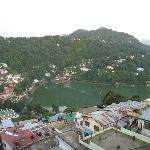 Naini Lake view from Terrace
